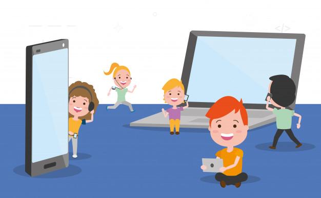 serba-serbi screentime pada Anak
